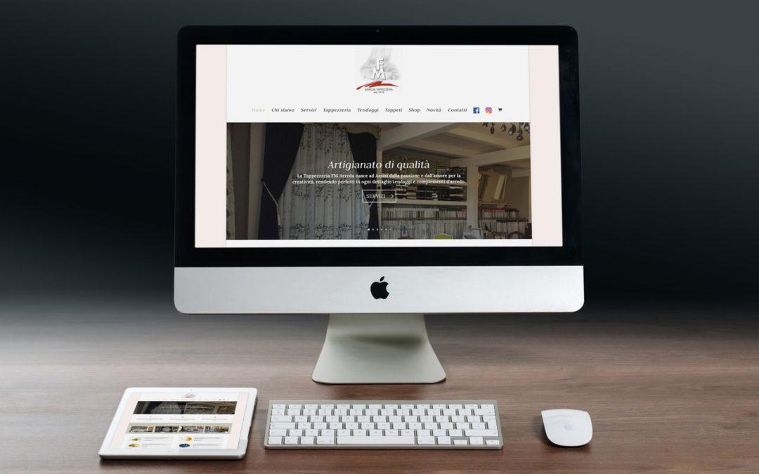 Online il nuovo sito FM Arreda
